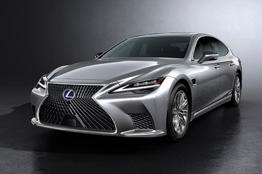 Lexus elevates the LS with enhanced design, automation, lustrous new finish