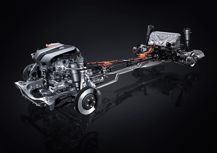 The newest Lexus LS