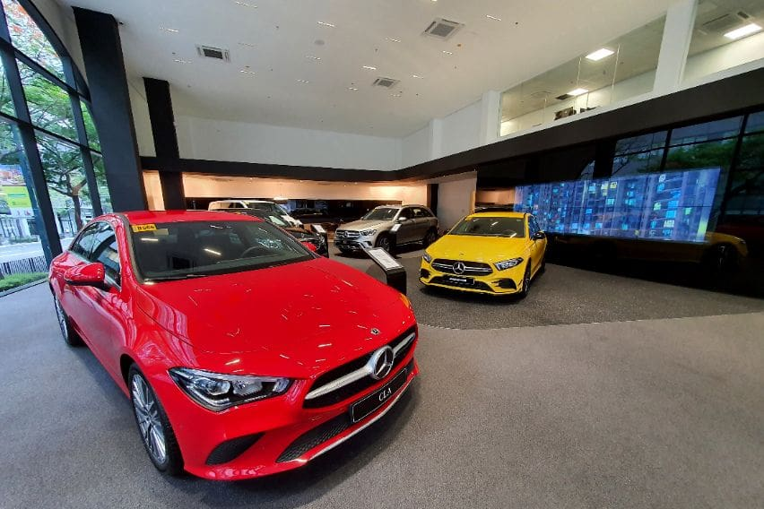 Benz BGC interior