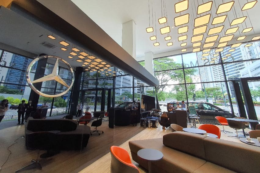 Benz BGC Lounge
