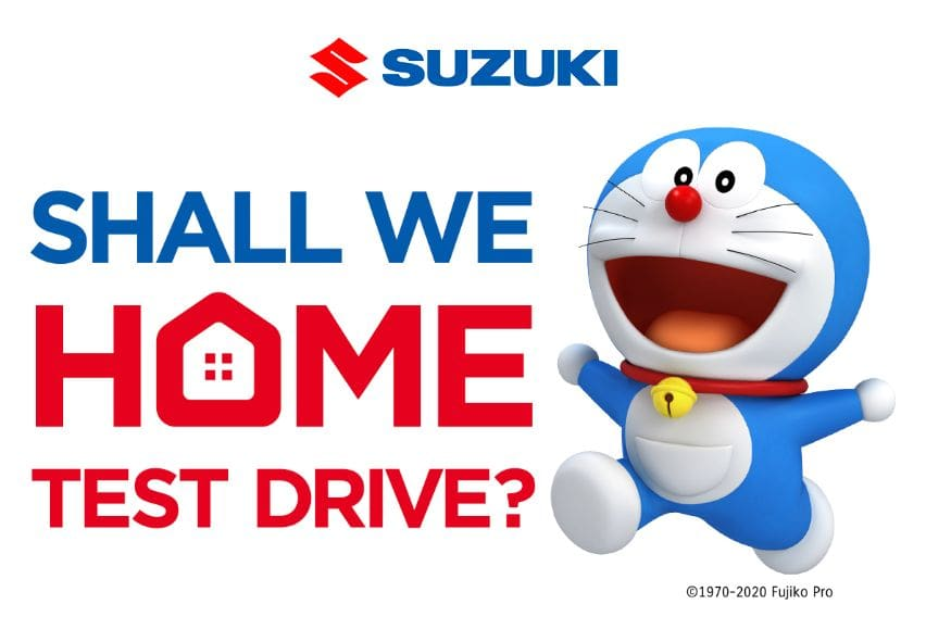 Suzuki PH plans plenty of Doraemon surprises for the rest of the year