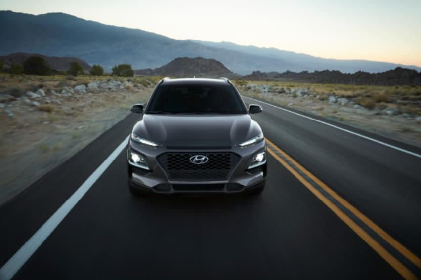 Hyundai Kona gives in to the dark side with new Kona Night Edition
