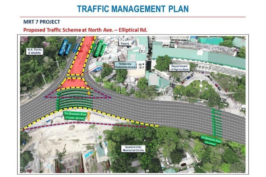 MMDA warns of heavy traffic at Elliptical Road