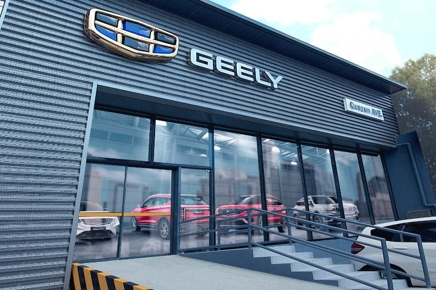 Geely opens new dealership on Quezon Avenue