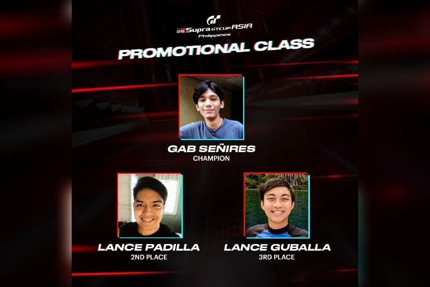 GR Supra GT Cup Promotional Top 3 Round 1
