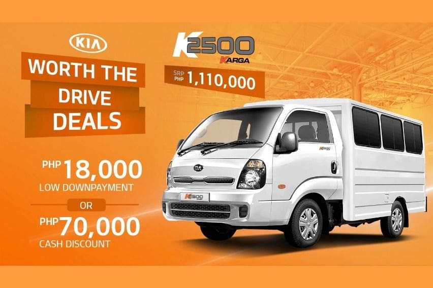 Kia K2500 August Promo Collateral