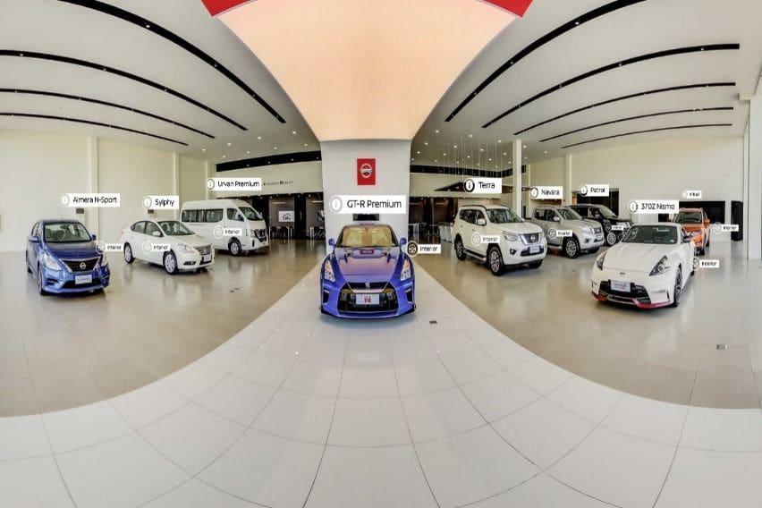Nissan PH premiers virtual showroom for Asia & Oceania region