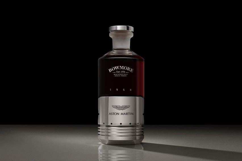 Aston Martin dips finger in whisky business