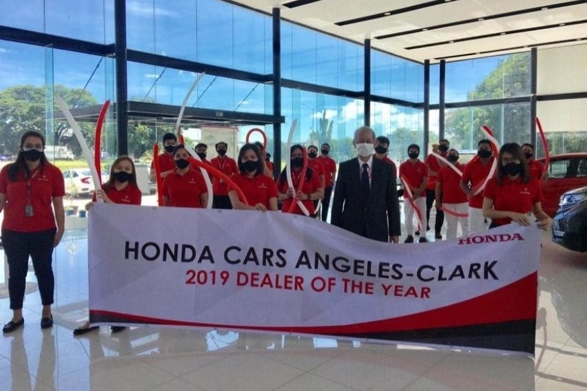 HCPI hails Honda Angeles-Clark as 2019 Dealer of the Year