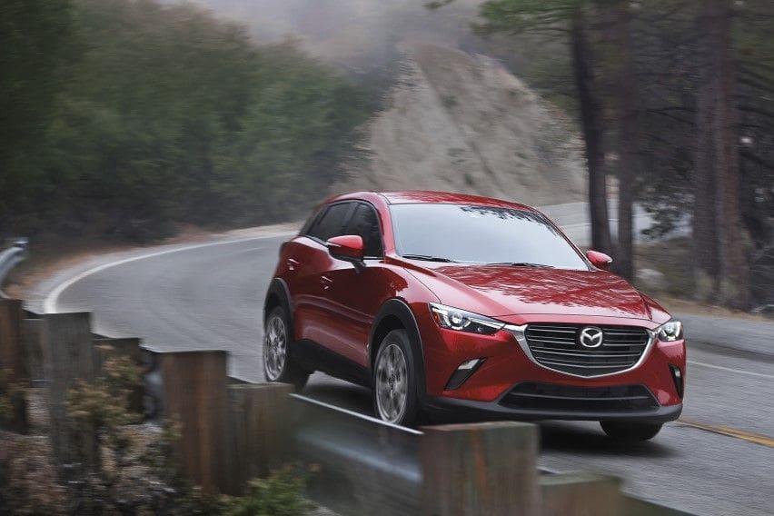 2021 Mazda CX-3 begins arriving at US dealerships next month