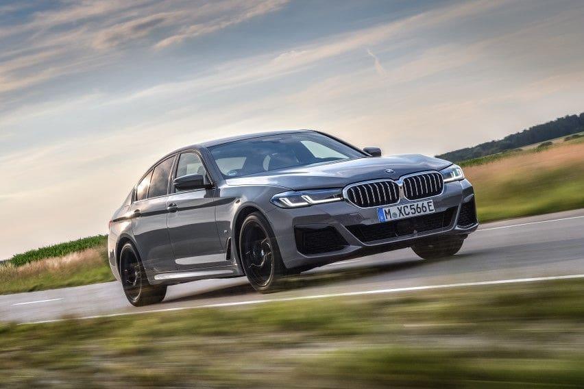 BMW introduces new hybrid 545e xDrive sedan with 394hp