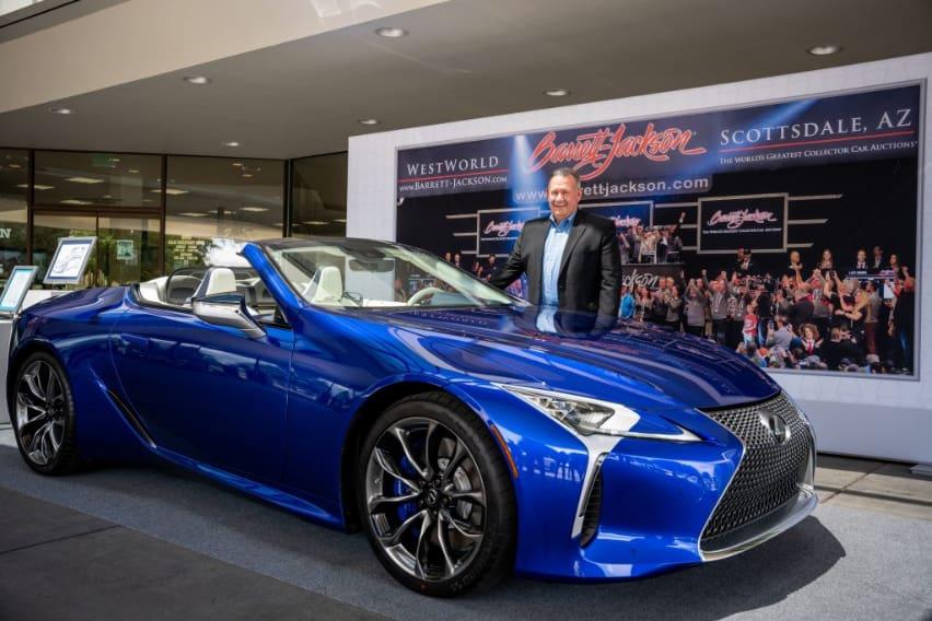 Lexus raises $2 million for charity with unique LC500 convertible