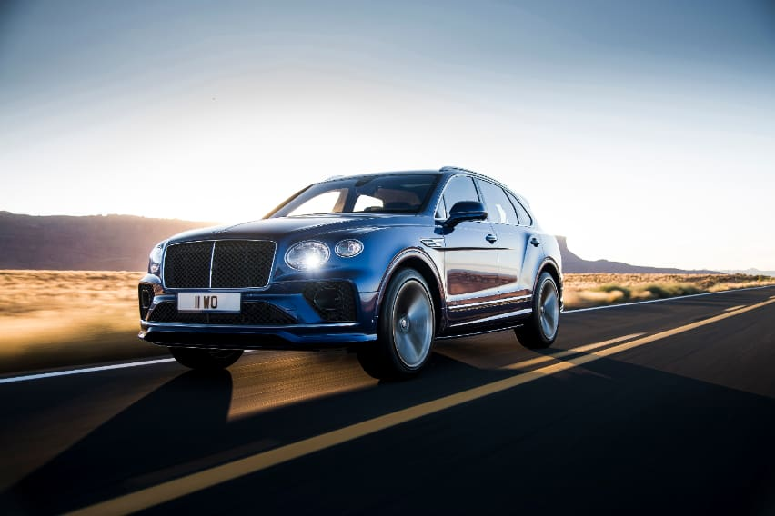 Bentley releases all-new Bentayga Speed