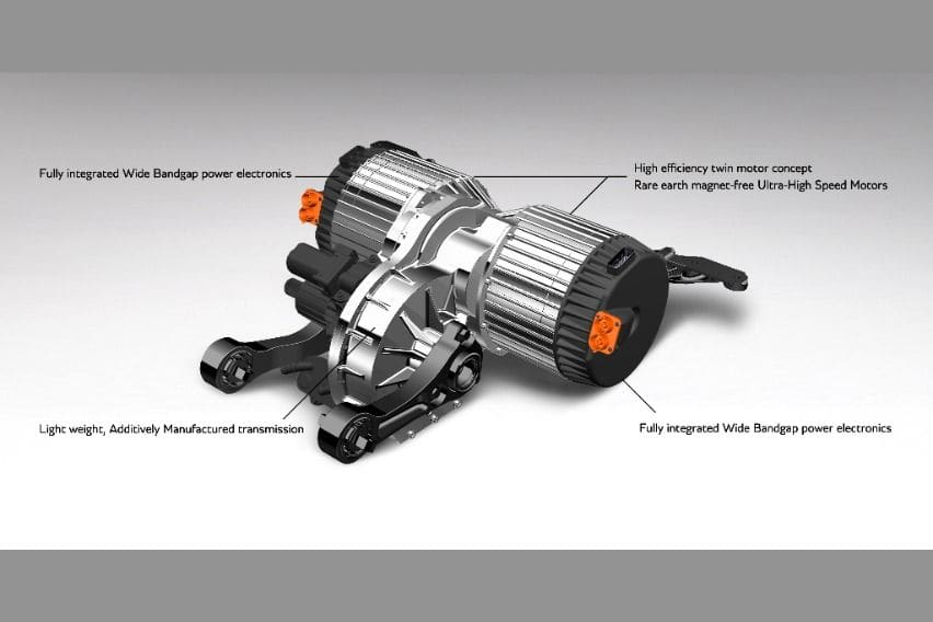 OCTOPUS e-axle annotated