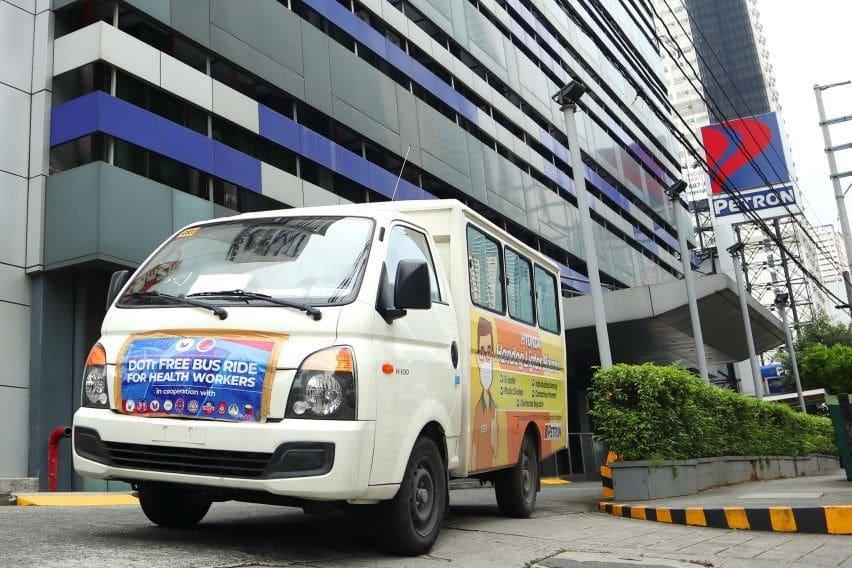 Hyundai, Petron partner to support DOTr's Libreng Sakay program