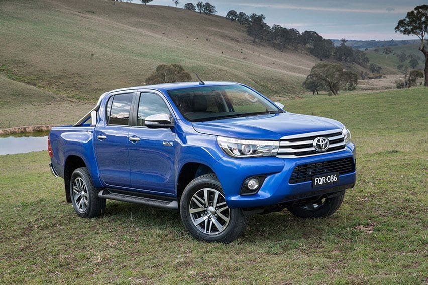 Toyota Hilux Generasi 8