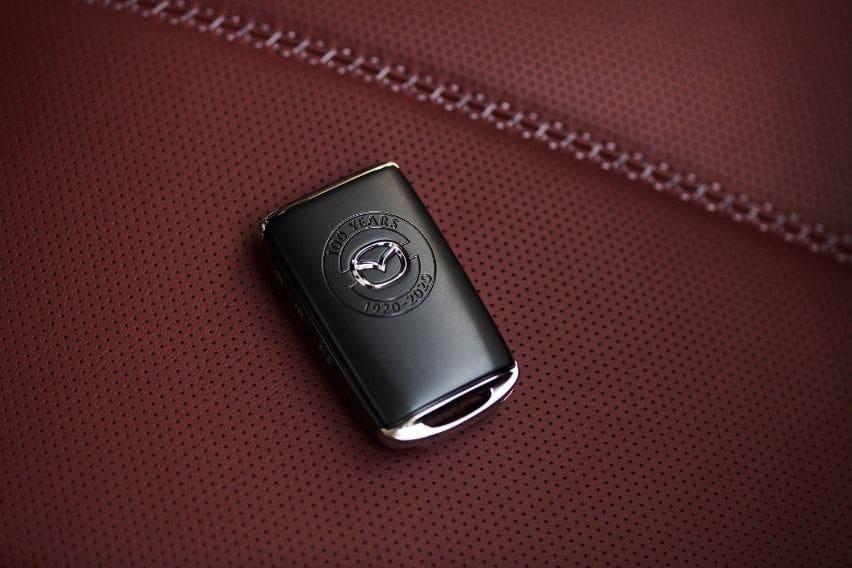 Mazda 100th Anniversary Special Edition keyfob