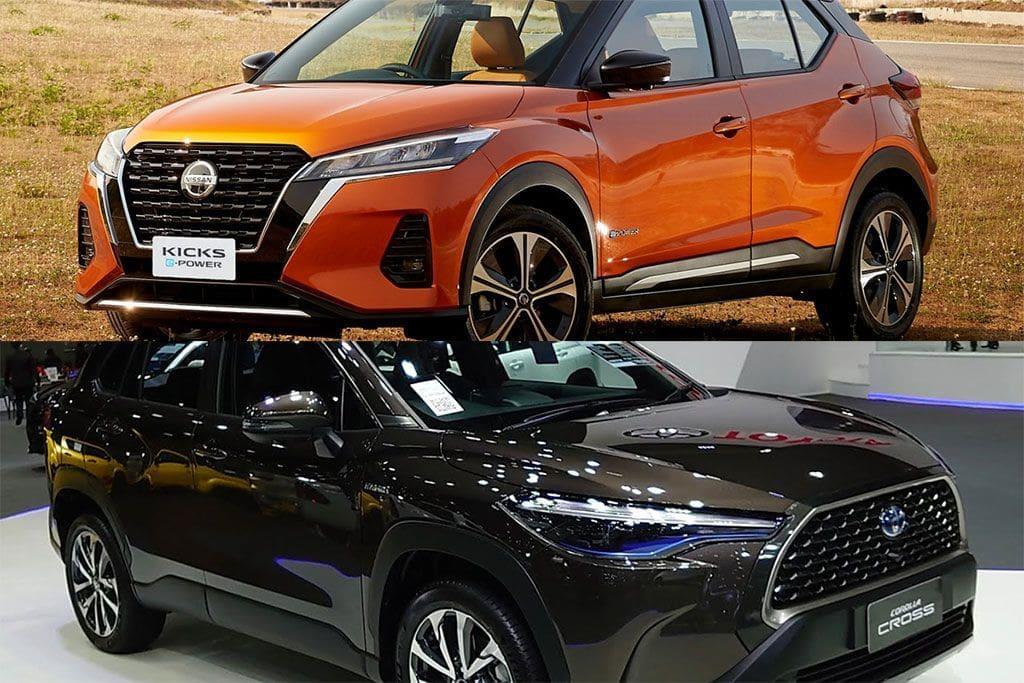 KOMPARASI: Nissan Kicks e-Power Vs Toyota Corolla Cross Hybrid