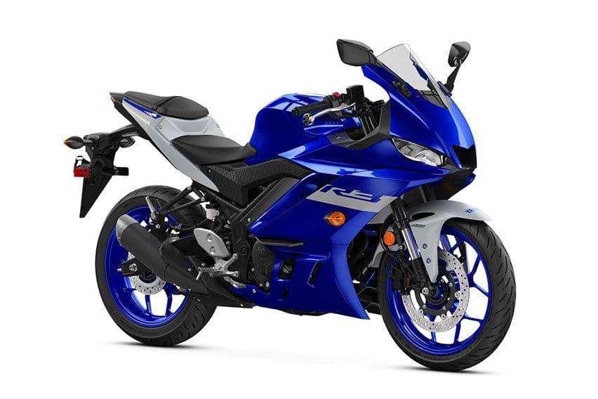 YZF-R3Team Yamaha Blue