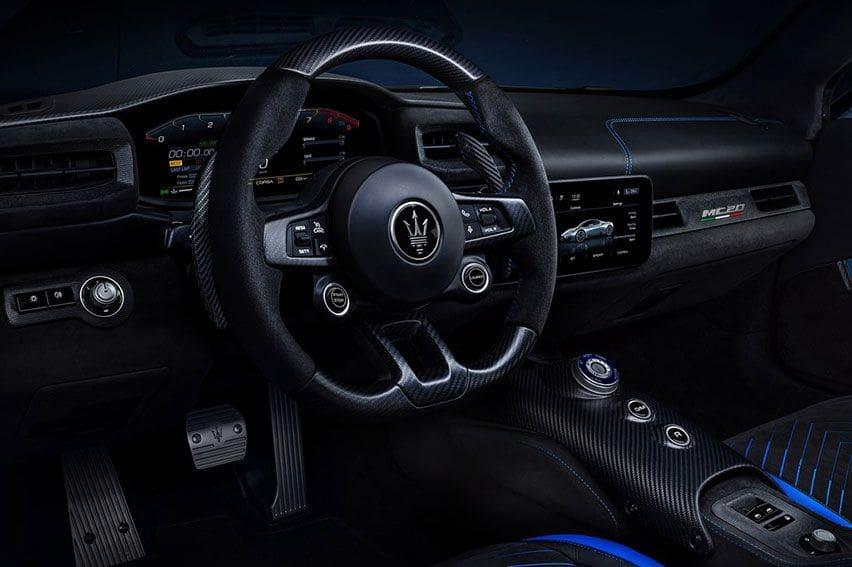 Maserati MC20 2021 interior