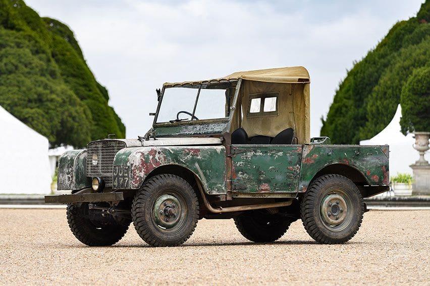 Land Rover JUE 477