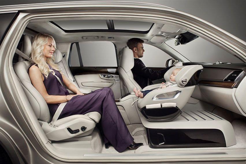 Volvo Rearward-facing Child Safety Seat