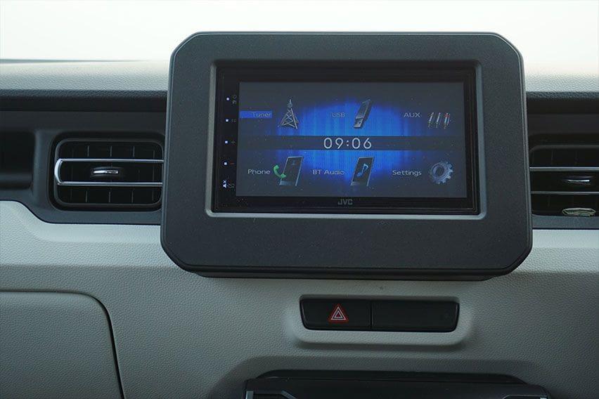 Suzuki Ignis GX AGS head unit