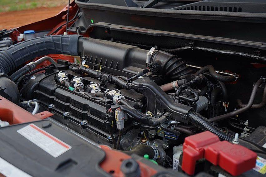 Suzuki Ignis GX AGS mesin