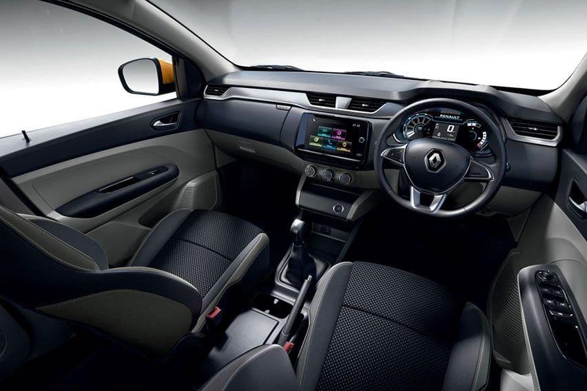 Renault Triber interior