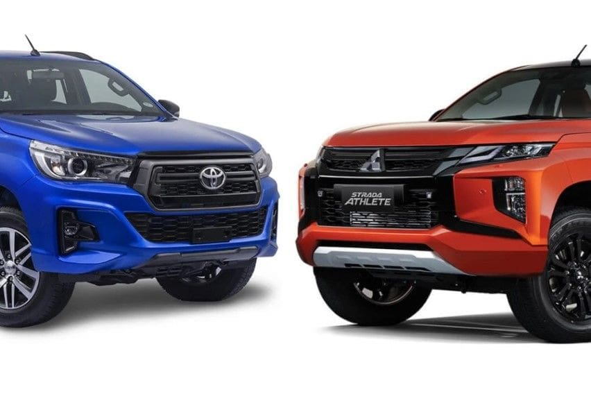 Pickup truck comparo: Hilux Conquest vs Mitsubishi Strada Athlete