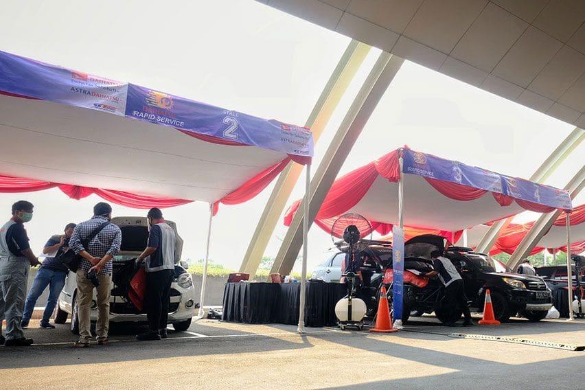 Program Daihatsu Rapid Service, Disambut Antusias Pelanggan