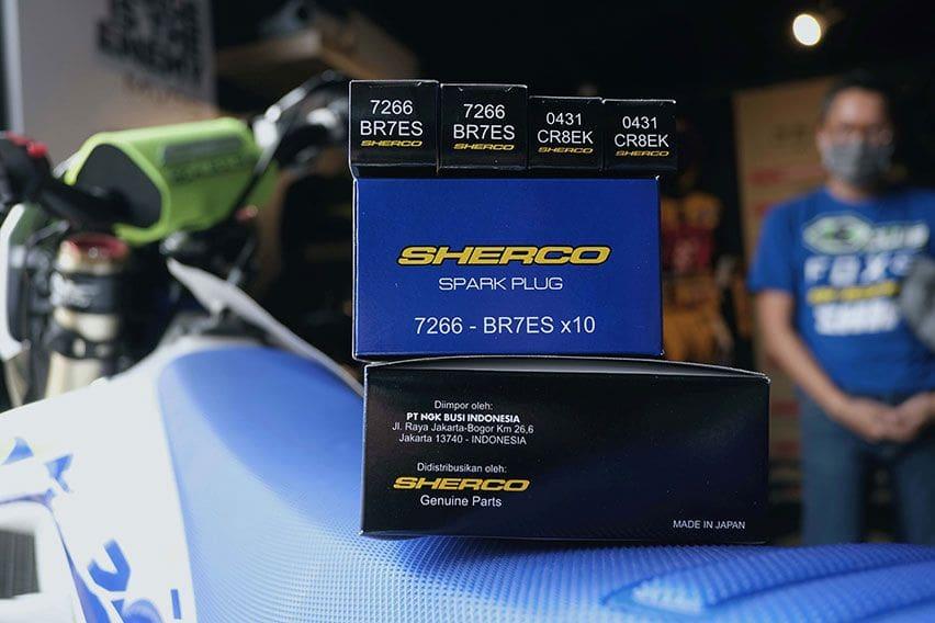 Sherco Gandeng NGK Sebagai Penyedia Busi Motor-Motornya