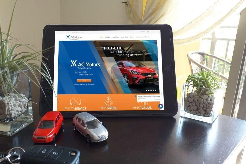 AC Motors website