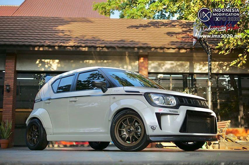 Begini Modifikasi Suzuki Ignis Time Attack by Garasi Drift