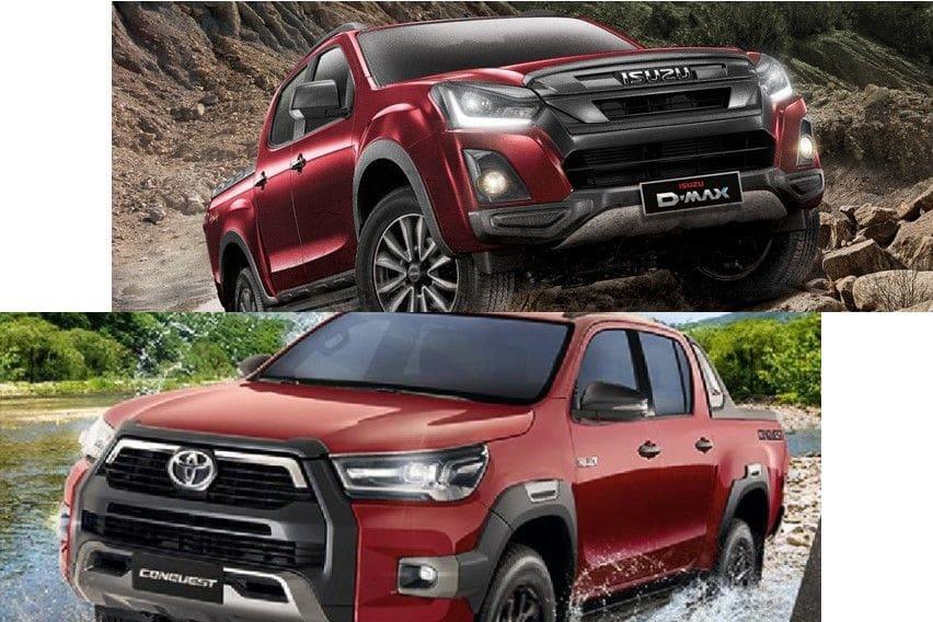Pickup truck comparo: Hilux Conquest vs Isuzu D-Max Boondock