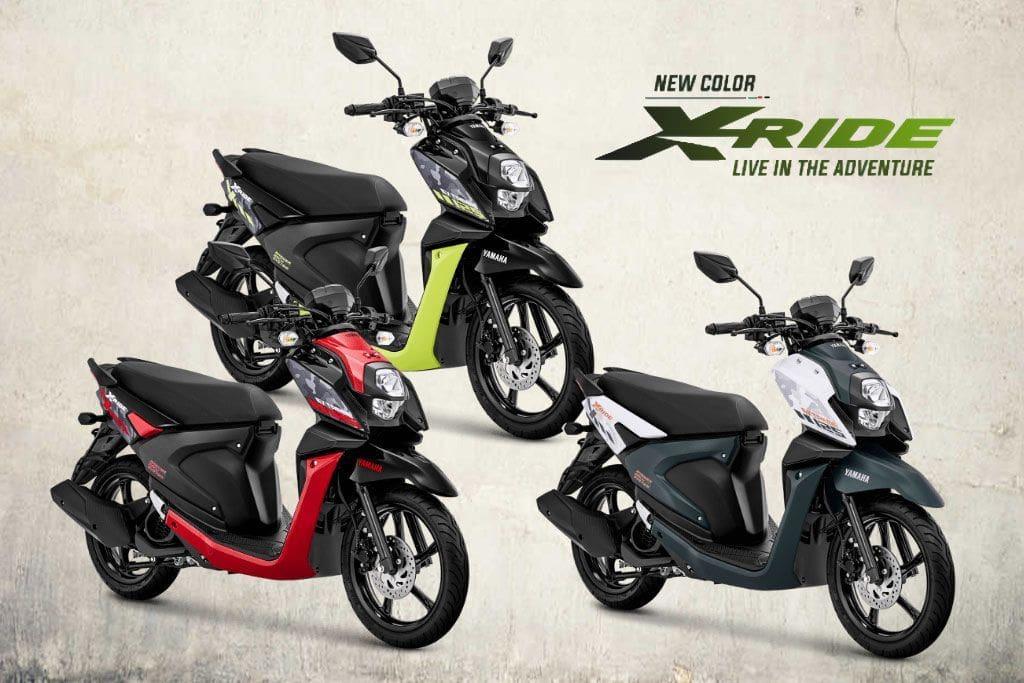 Yamaha X-Ride 125, Hadirkan Warna Baru
