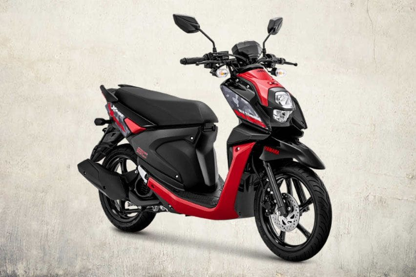 Yamaha X-Ride 125 Attractive Red