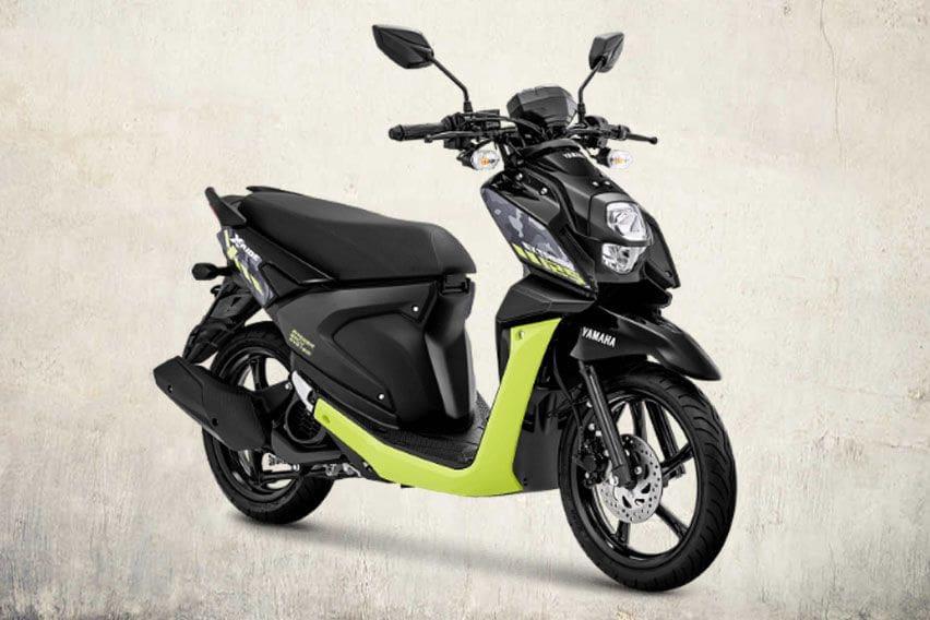 Yamaha X-Ride 125 Black Light Green
