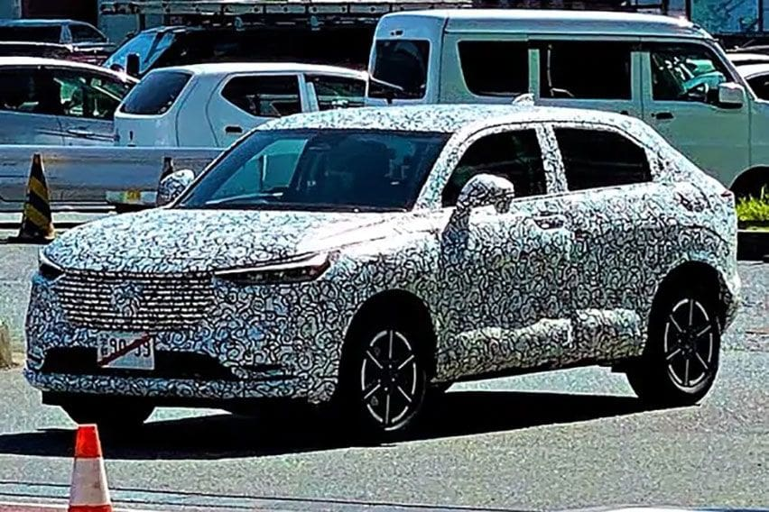SPYSHOT: Tes Honda HR-V, Bakal Keluarkan Generasi Baru?