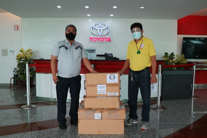 Toyota Facemask