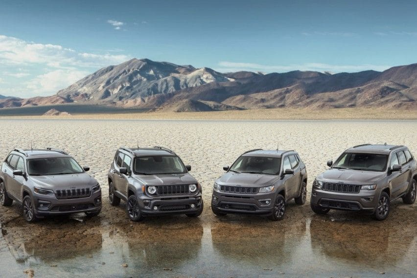 Jeep marks 80th year with anniversary special editions for entire lineup