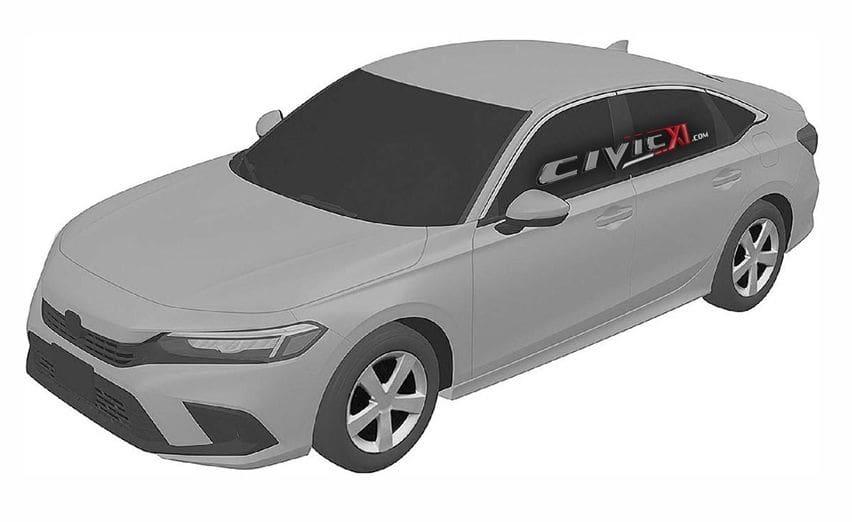 Begini Tampang Honda Civic Generasi Terbaru