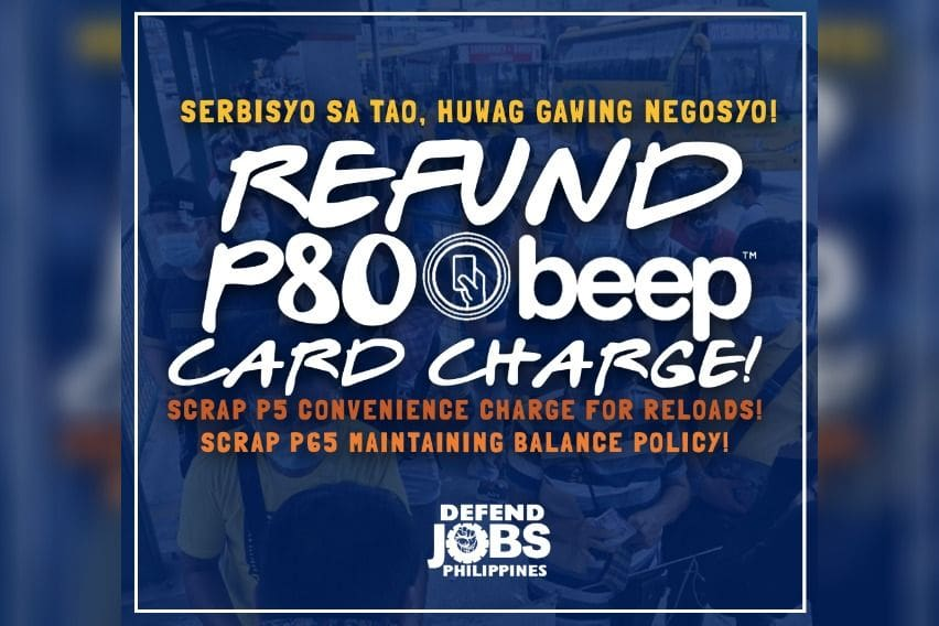 defend jobs vs beep cards