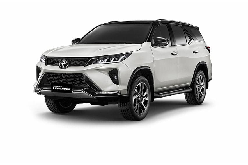 Here are the variants for the incoming Toyota Fortuner