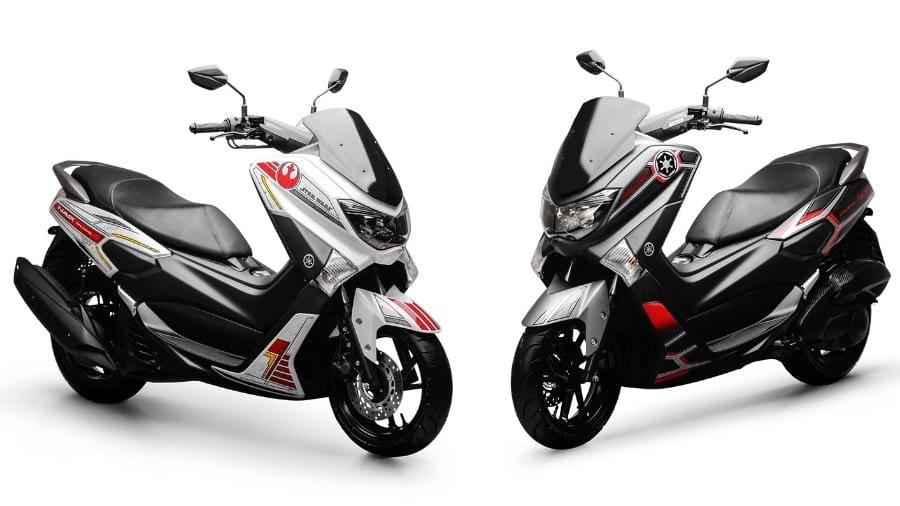 Yamaha NMax Tampil Mentereng Bertemakan Star Wars