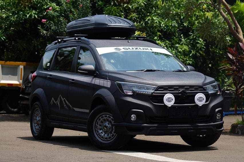 Inspirasi Modifikasi Sangar XL7 ala Suzuki dan NMAA