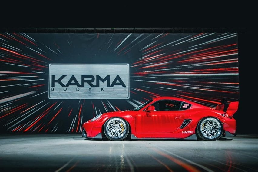 Porsche Cayman Karma