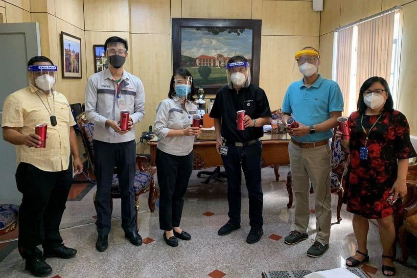 Toyota PH, Denso TH donate air purifier equipment to PGH