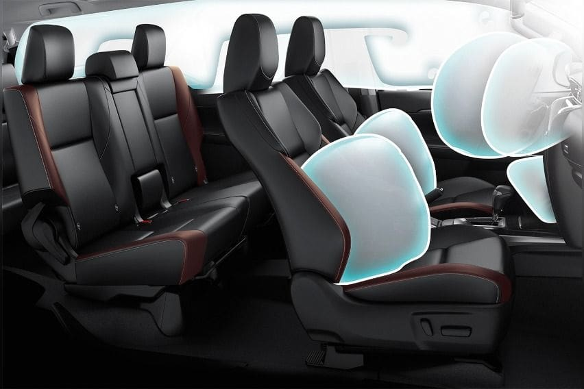 fortuner airbags