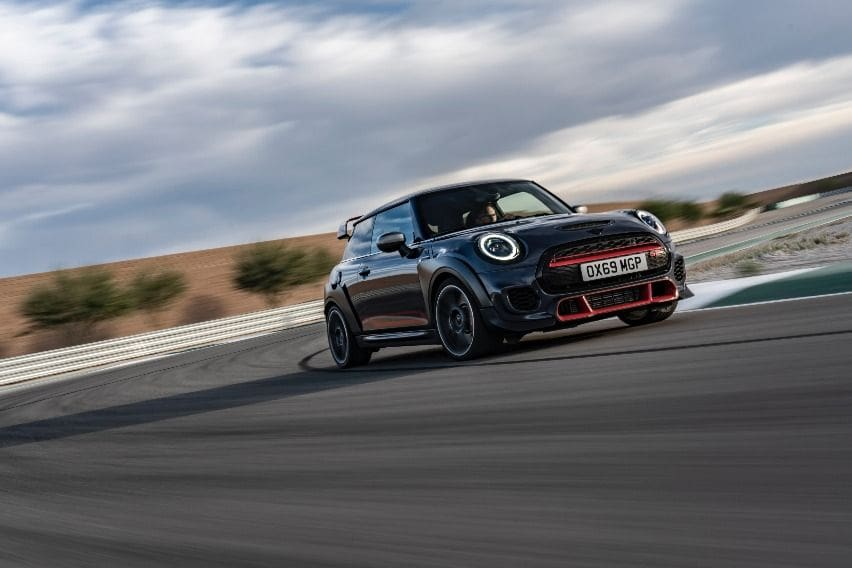 Limited-run Mini John Cooper Works GP now in PH